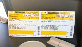 Ticket de tren