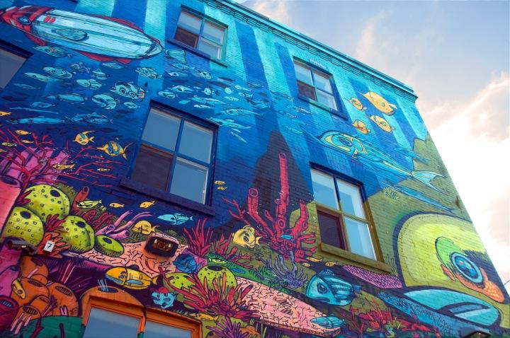 Graffitis en Toronto yMontreal